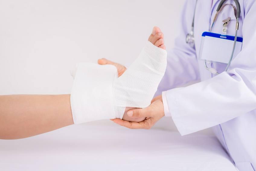 bandażowanie uciskowe